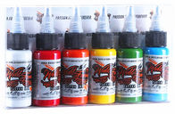 Primary Eternal Tattoo Ink Kit No Side Effects Gradient Colorful 50 Bottles