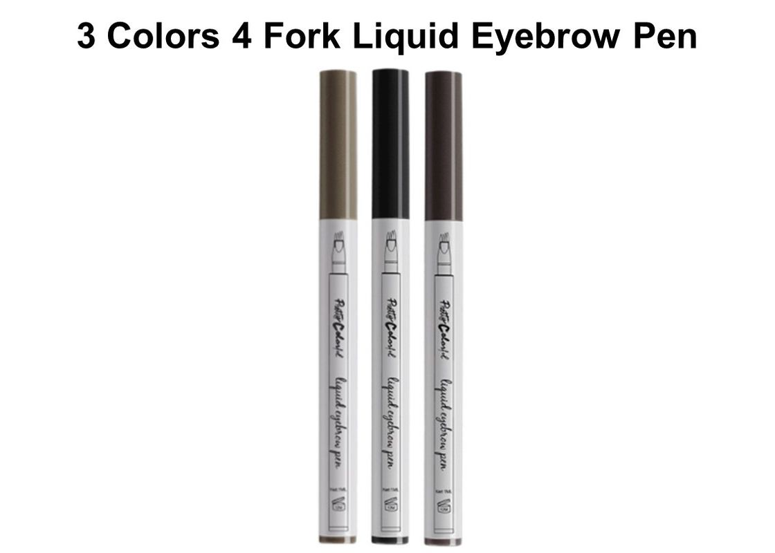 4 Fork Liquid Smudge Proof Brow Pencil , Light Natural Eyebrow Pencil
